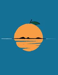 Fruitful Weekend (DOWNSIGN) Tags: orange sun weekend fruit plant juice reflection illustration art samomo downsign nature