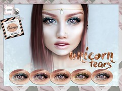 WarPaint @ TheSaturdaySale - Unicorn Tears (Mafalda Hienrichs) Tags: warpaint war paint saturday sale secondlife unicorn tears applier makeup catwa promo