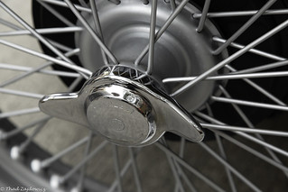 MG Hubcap and Wheel