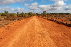 Back Road, Cobar, New South Wales, Australia (Red Nomad OZ) Tags: cobar road newsouthwales nsw australia rural country outback red cloud