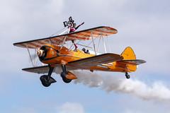 DSC_9718 copy (quintinsmith_ip) Tags: aerosuperbatics flyingcircus 'superstearmans stearmans plane formation flight smoke smoking orange white wingwalkers sunderland 2018