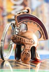 Trinket (haberlea) Tags: rome keyring macro macromondays helmet roman trinkets trinket ornament