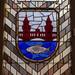 Glassfenster mit Wappen, Rotes Rathaus
