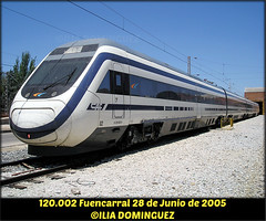 il040 (ribot85) Tags: 120002 120 atprd fuencarral caf actren avgl gl brava tren trenes trains train railways renfe railroad madrid anchovariable