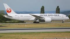 JA842J (Breitling Jet Team) Tags: ja842j japan airlines boeing 7878 dreamliner euroairport bsl mlh basel flughafen lfsb