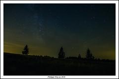 La nuit des étoiles (philippeeloy) Tags: basrhin alsace le champ du feu nuit voie lactée étoiles fuji xt20 1855mm f284 pose longue