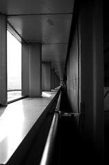 The Thinker (Blue Nozomi) Tags: thinker window train station leading lines manila philippines