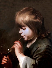 IMG_4004UB Jacob Adriaensz Backer 1608-1651. Amsterdam Enfant soufflant une bulle de savon.  Child blowing a soap bubble. 1630s Avignon. Musée Calvet. (jean louis mazieres) Tags: peintres peintures painting musée museum museo france avignon muséecalvet jacobadriaenszbacker