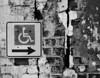 Bumpy ride (hutchphotography2020) Tags: handicapbrickwall ruggedtexture bumpy monochrome blackandwhite nikon