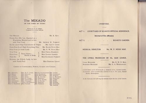 1922: Jan Programme 2