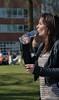 Hydration (Scott 97006) Tags: woman female lady thirsty swig park