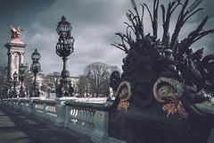 Paris (marcelo.guerra.fotos) Tags: paris france bridge architecture antique historicpreservation historiccenter interestingness sky skyabove detail deep design