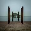 Brighton West Pier (Dom Haughton) Tags: brighton west pier briightonwestpier sussex south england uk greatbritain britain outdoor coast englishchannel decay ruin canoneos70d canon longexposure beach