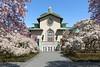 Brooklyn Botanic Garden (Robert Wash) Tags: newyork ny newyorkcity nyc brooklyn brooklynbotanicgarden laboratoryadministrationbuilding magnoliaplaza williamkendall mckimmeadwhite tuscanrevival architecture