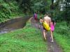 The long walk back to the car (Stinkee Beek) Tags: lombok adi leonard erin ethan