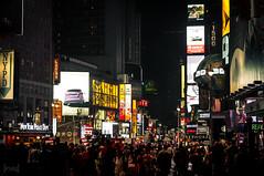 Times Square, New York, USA (KSAG Photography) Tags: newyork usa america city urban night nightphotography timessquare nikon 2012 people street streetphotography travel tourism building lights august