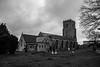St Andrews Church (PhotooKyle) Tags: black white monochrome church burnham sea st andrews canon60d canon sigma sigma1750mm
