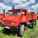 Feuerwehr Unimog 404 Pulverlöschfahrzeug PLF 750, 1969
