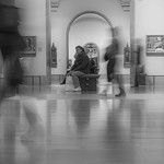 """""""Sitter"""" in National Gallery London"""