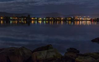 Night Lights on the Bay