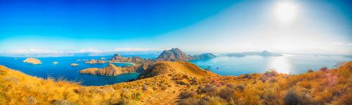 Padar Island in East Nusa Tenggara,Indonesia