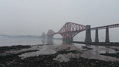 Murky waters. (steve vallance coach and bus) Tags: forthrailbridge riverforth firthofforth northqueensferry southqueensferry