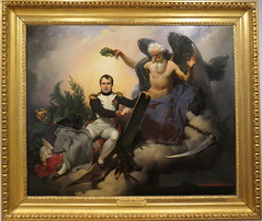 Time crowns Napoleon for writing the Civil Code - Jean-Baptiste Manz... 1833 (Monceau) Tags: châteaudemalmaison malmaison fathertime time crowns napoleon writing codeoflaw napoleoniccode