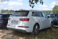 Audi SQ7 (Monde-Auto Passion Photos) Tags: voiture vehicule auto automobile audi sq7 4x4 suv sportive blanc white france fontainebleau