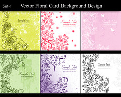 Vector Floral Card Background Design Set-1 (stockgraphicdesigns) Tags: background card celebration ceremony colorful decor decoration decorative elements engagement filigree floral flourish flowers grass green greeting grunge grungy invitation marriage matrimony nature ornaments romance swirl template texture vintage wedding weddingdesigns weddinginvitations