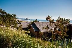 The edge of Cannon Beach (karlsjohnson) Tags: coast favorite karl landscape travel oregon cannonbeach unitedstates