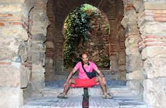 Málaga, Abdo in de Alcazaba, Spanje Andalusië 2018 (wally nelemans) Tags: abdo málaga alcazaba spanje spain españa andalusië andalucia andalusia 2018