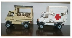 _20180721_190421 (aeturnus_79) Tags: unimogs unimog truck lego safari medical emergency