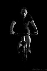 Self (#Weybridge Photographer) Tags: studio portrait adobe lightroom canon eos dslr slr 5d mk ii mkii mountain bike biking cylce cycling self selfie low key monochrome specialized camber
