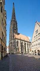 St. Lamberti (staetebau) Tags: deutschland germany münster stlamberti stlambert gotik gotischebaukunst gothicarchitecture