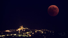 ... LA LUNA ROJA ... (Device66.) Tags: moonscape xicon night moon red ponoig polop eclipse double exposure