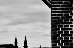 Mannheim Hafen b&w 10 (rainerneumann831) Tags: mannheim hafen bw blackandwhite ©rainerneumann silhouette ludwigshafen