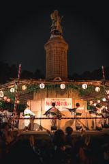 Summer Carousel (Dave Schaefer) Tags: lanterns summer japanese asia streetphotography nightphotography night festival tradition tokyo japan