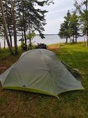 Day 1 - Green Park Campsite (Bobcatnorth) Tags: princeedwardisland canada summer 2018 pei cycling bicycle touring bicycletouring camping sightseeing
