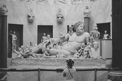 There's no age to admire history (crisgarr) Tags: vatican architecture history art rome italy italia roma vaticano sculpture escultura