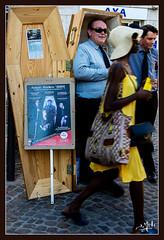 La comm' / Advertisement - Festival d'Avignon / Avignon's festival (christian_lemale) Tags: communication pub com avignon festival théâtre france nikon d7100 publicité advertisement