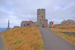 Aberystwyth Castle. (Minoltakid) Tags: aberystwyth castle aberystwythcastle ceredigion wales uk old ruin historic minoltakid theminoltakid rossevans rossdevans summer people fun sonyrx0 rx0 tagged geotagged building oldbuilding 2018 july heatwave town aber