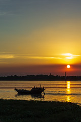 Sunset Boating (views@vista) Tags: boat dusk evening hooghly kolkata landscape nature outdoor reflection river riverbank shore sky sunset twilight water westbengal