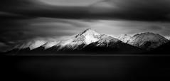 Turnagain Arm (Dan Moran AK) Tags: alaska turnagainarm mountains mountainscape seascape landscape longexposure lowkey blackandwhite nikon d750 firecrest nd