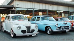 1941 Ford 2-door sedan & 1955 DeSoto Firedome (RealCarsCH) Tags: 1941 ford 2door sedan 1955 desoto firedome