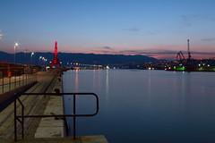 Molo_longo_evening (Rijeka u slikama) Tags: rijeka croatia hrvatska pentaxk7 blue hour port