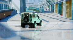1:76 Scale Diecast Model Land Rover Defender 90 Heritage By Oxford Diecast Limited Swansea Wales United Kingdom 2017 : Diorama GT4 Showroom - 11 Of 14 (Kelvin64) Tags: 176 scale diecast model land rover defender 90 heritage by oxford limited swansea wales united kingdom 2017 diorama gt4 showroom