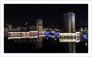 Les anciens ponts couverts de Strasbourg