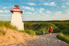 StPeters18-64-1 (carrieellengregory) Tags: 2018 beach carriegregoryphotography dunes july lighthouse pei road sand stpeters summer sunset warf water