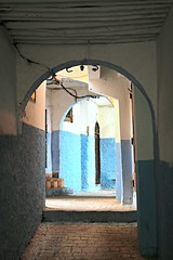 covered alley (daniel.virella) Tags: tanger morocco passage doors alley medina blue picmonkey