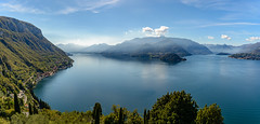 D71_9315-Pano.jpg (David Hamments) Tags: lakecomo hike panorama northernitaly castellodivezio trek varenna fantasticnature